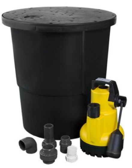 JTFS Basement 60L Black Sump Kit